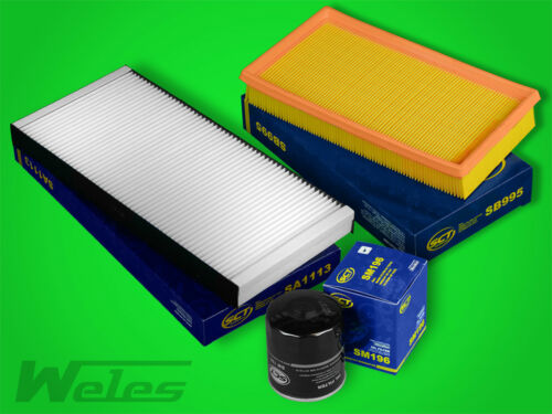 FS173 INSPEKTIONSPAKET Luftfilter Ölfilter Pollenfilter FORD FOCUS 1,4 16V