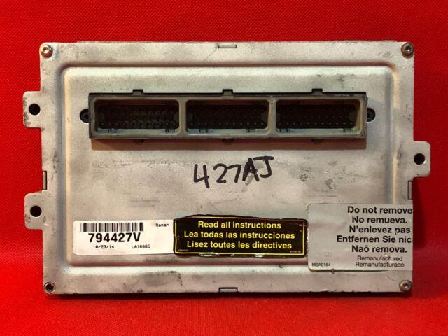 s l640 99 jeep grand cherokee 4 7l at v8 ecm ecu pcm engine computer plugs