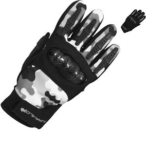 Buffalo Racer Youth Motorcycle Gloves Motorbike Armour Kids Childrens GhostBikes