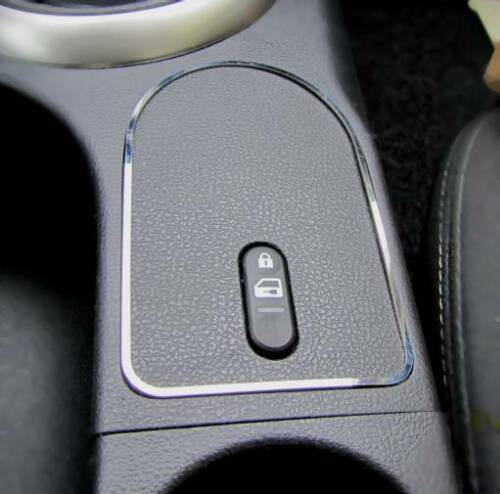 Edelstahl pol D Nissan Qashqai Chrom Rahmen für Schalter Zentralverriegelung