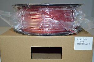 Premium 3D Printer Filament 3.0 PLA 1kg/2.2lb,RED, Vacuum Sealed,FREE SHIP