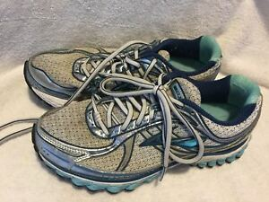 8ff6bc90587aa Used Worn Brooks Trance 11 Womens size 9 B running shoes ...