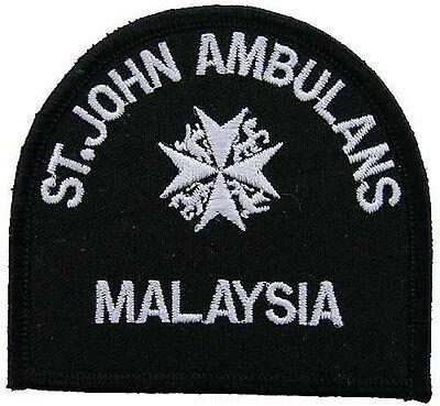 MALAYSIAN KADET OFFICIAL SHOULDER Patch JOHN AMBULANCE ST MALAYSIA