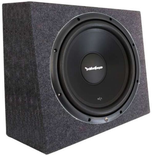 Rockford Fosgate R1S4-10 10/' Prime 300 Watt 4-Ohm SVC Subwoofer Sealed Box