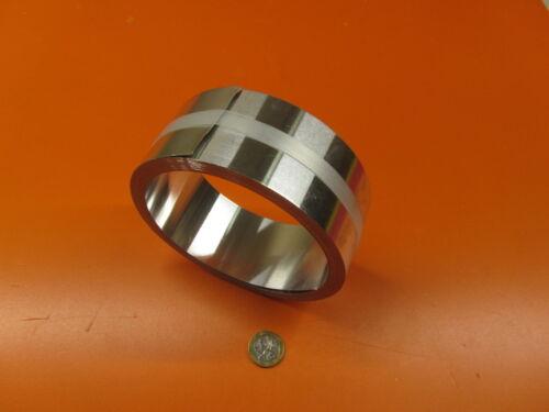 """H14 .016/"""" Thick x 2.0/"""" Wide x 25 Feet Long 3003 Aluminum Foil 1//2 Hard"""