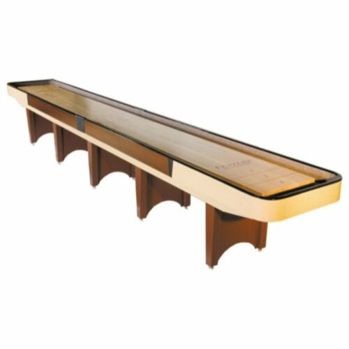 Gaming Board With Playing Accessories Classic Venture Shuffleboard Table