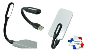Lampe Universal Flexibel USB Für PC/Mac/Computer/Tablet (Schwarz)