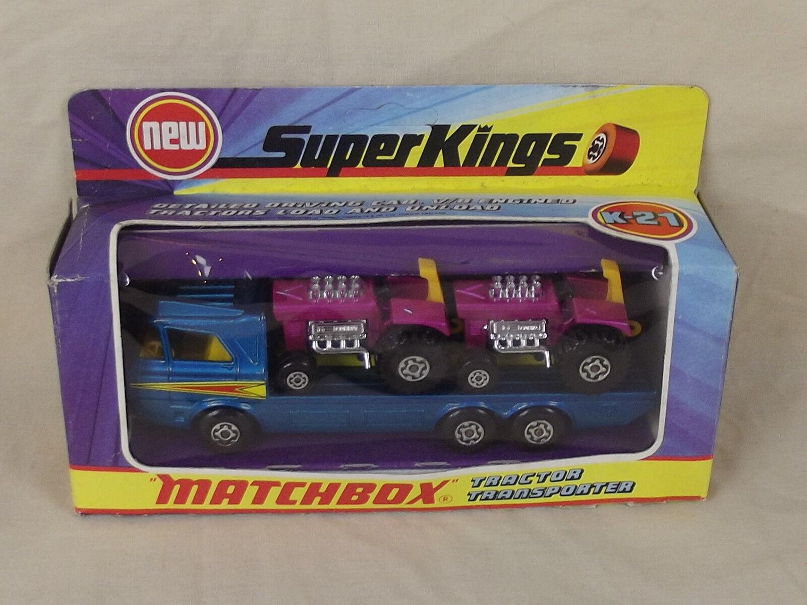 MATCHBOX Super Kings K-21 tracteur transporteur