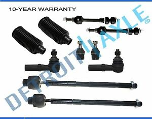 10 Pc Front Complete Suspension Kit for Dodge Ram 1500 2006-2008 5-Lug 4x4 Only
