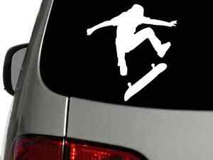 SKATEBOARD-SKATE-Vinyl-Decal-Car-Window-Wall-Sticker-CHOOSE-SIZE-COLOR