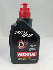 105783 Motul MOTYLGEAR 75W90 Technosynthese® Gear Oil, all Mech Trans (1 Liter)
