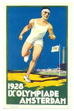 NEDERLAND-1928 OLYMPIADE OLYMPICS  POSTER CARD  **  PRACHT VF  @1
