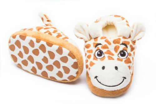 Giraffe Baby /& Toddler Slippers Safari of Angels Sizes From 6 To 36 Months