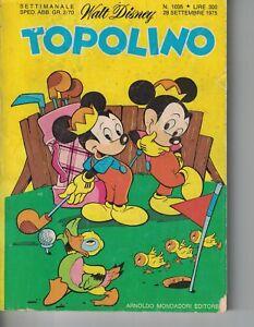 1975 09 28 - TOPOLINO - WALT DISNEY - 28 SETTEMBRE 1975 - N.1035 - Italia - 1975 09 28 - TOPOLINO - WALT DISNEY - 28 SETTEMBRE 1975 - N.1035 - Italia