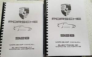 image is loading porsche-928-wiring-diagrams-covering-models-1978-1994-