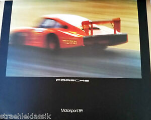 Seltener Motorsport Porsche Kalender 1984 Mit Münze 956 Zu Neuen