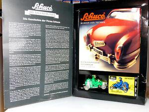 Schuco-02145-miracle-de-la-technique-Livre-fonction-Modele-Racer-Kart-Neuf-dans-sa-boite