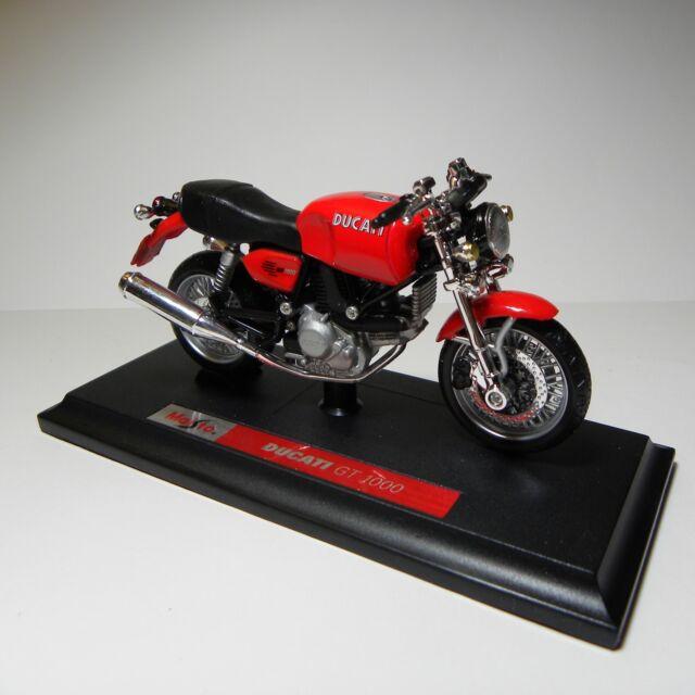Maisto 1:18 39300 Ducati GT 1000 rot red Motorrad Bike ungeöffnet NEU OVP