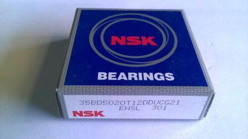 AC Compressor OEM Clutch Bearing NSK 35BD5020 35x50x20 mm Air Condition Ddu-dum