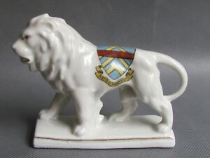 CRESTED-WARE-ARMS-OF-MONMOUTH-LION-GERMAN-Ref3227