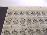 U.S. Sheet of 50 3¢ Stamps #1099 Religious Freedom 1957 MNH