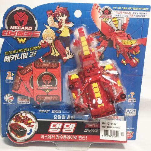 8 kinds Turning Mecard Transforming Robot Hit Animation Character Toy Tanatos