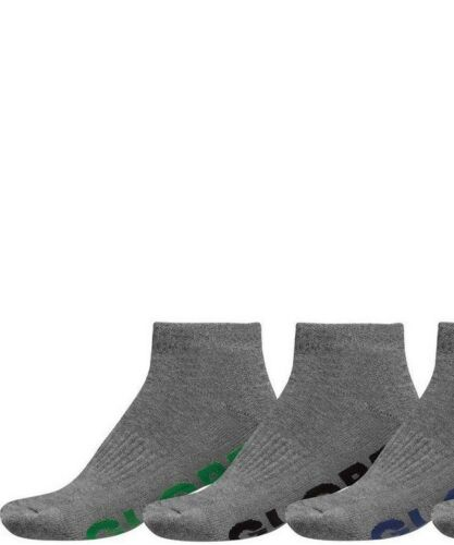Globe Mens Socks 5 Pairs Black Stealth Ankle