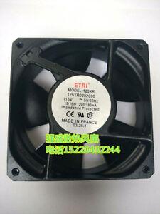 1pcs  ETRI 125XR0282090 115V 16//15W 12038 metal high temperature cooling fan