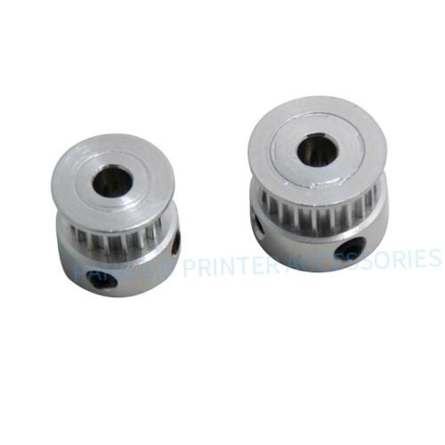 3D Printer T2.5 16//20-Teeth Timing Belt Aluminum Drive Idler Pulley Bore 5mm