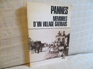 Pannes mémoires d'un village gatinais