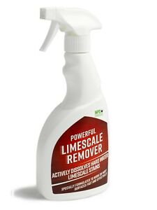 LIMESCALE HARD WATER STAIN REMOVER BATH BATHROOM TAPS SHOWER HEADS - Bathroom stain remover