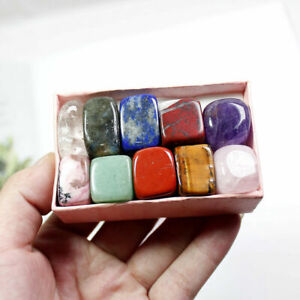 10-Pcs-Natural-Chakra-Tumbled-Stone-Mineral-Crystal-For-Healing-Feng-Shui-Decor