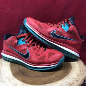 9ced35e9f4d Nike Lebron IX 9 Low Liverpool Action Red Black Green 510811-601 Sz ...