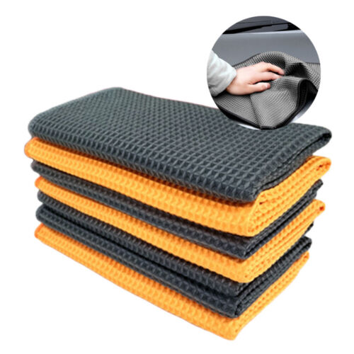 1pcs Soft Microfiber Towel Car Cleaning Wash Clean Wax Polishing Cloth Universal
