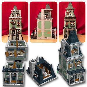 LEGO-Modular-Haunted-House-PDF-instructions-only-alternate-custom-10228-10230-A