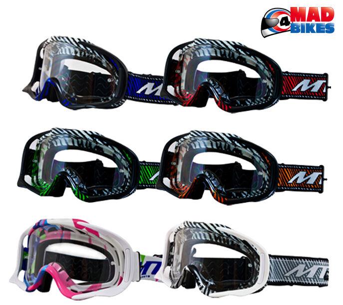 MT MX Pro III Gafas Para Motocross, Enduro, MX, bmx, MTB, Con Descuento BOTONES