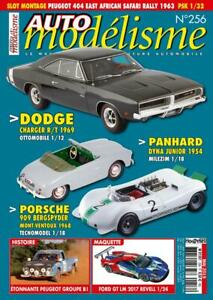 Auto Modélisme Le Magazine De La Miniature Automobile N°256 (mai 2019) Avoir Un Style National Unique