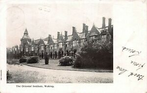 Great-Britain-1903-Woking-Postcard-Used-Woking-and-Pirbright-Postal-Markings