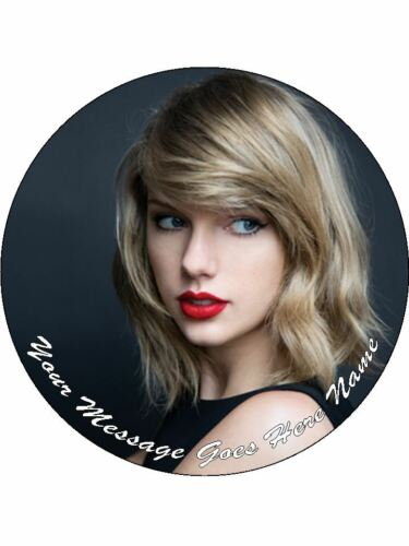Pré Coupe givrage Taylor Swift Cake Topper 7.5/""