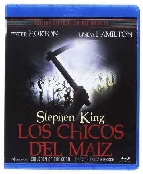 LOS CHICOS DEL MAIZ (BLU-RAY) (CHILDREN OF THE CORN)  REGION LIBRE.A-B-C