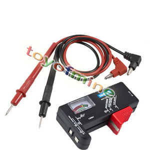 how to make a 9 volt battery tester