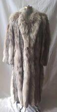 Beautiful Full Length Lynx Fur Coat SIZE- Large