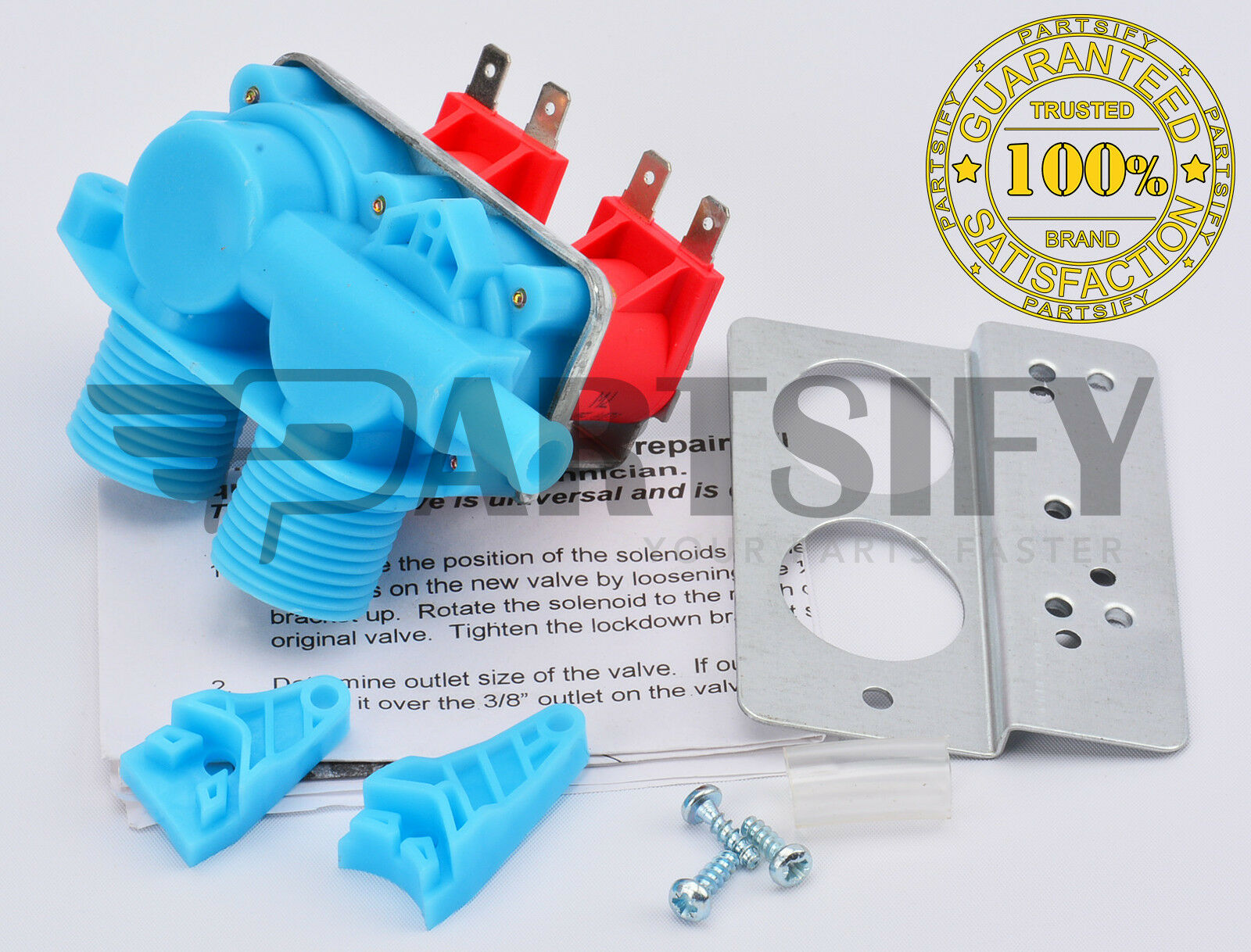 ROPER KENMORE SEARS NEW AP3094541 WASHER WATER INLET VALVE FITS WHIRLPOOL
