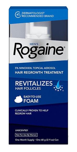 Rogaine Men's Foam 5% Minoxidil Unscented 3 Month Supply New EXP 07/19 - 01/20
