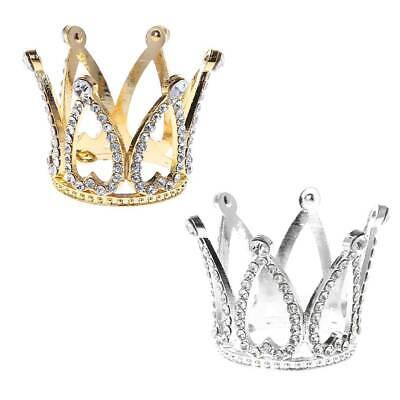 1xBaby Crown Photography Props Headband Ring Mini Decor Fashion Newborn Memorial