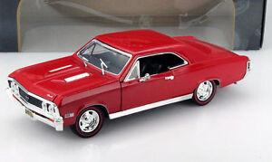 1/18 Chevrolet Chevelle SS 396 1967 Motor Max - France - État : Neuf: Objet neuf et intact, n'ayant jamais servi, non ouvert. Consulter l'annonce du vendeur pour avoir plus de détails. ... Echelle: 1/43 Marque: Motor Max EAN: Non applicable - France