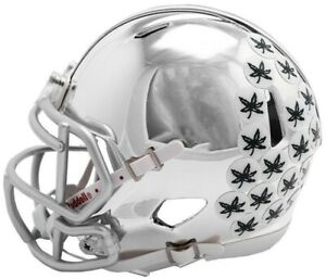 c3f0a178 Details about Ohio State Buckeyes 2018 Alternate Chrome NCAA Riddell Speed  Mini Helmet