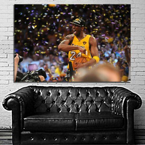 #31 Kobe Art Los Angeles Basketball Sport Poster Canvas Ready to Hang Framed
