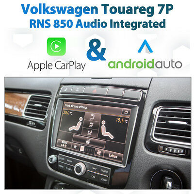 Volkswagen Touareg 7P Apple CarPlay & Android Auto Retrofit Kit for