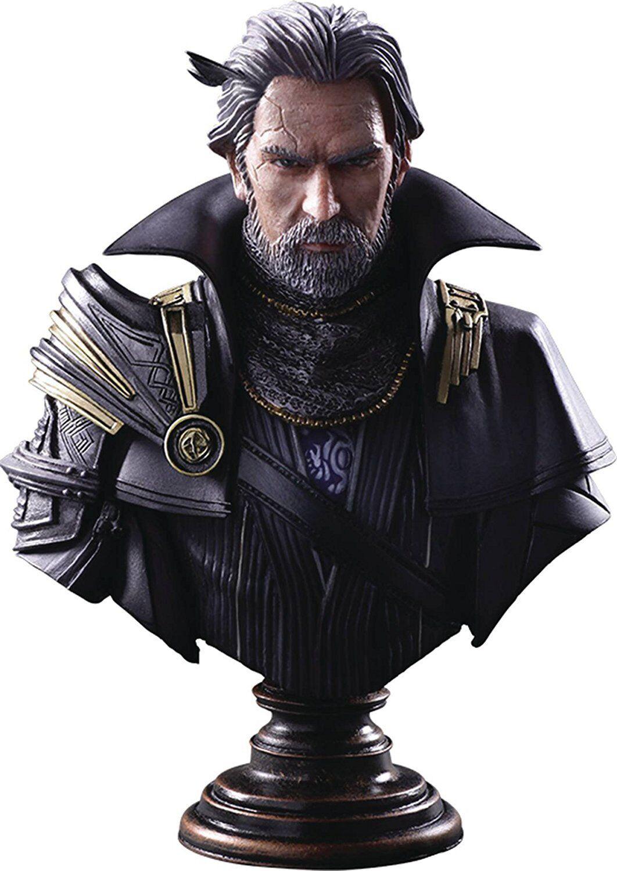 Final Fantasy XV Kingsglaive Regis Lucis Caelum Static Arts Bust